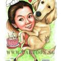 2017-07-13-Caricature-Singapore-gift-pet-dog-bake-cake-hug
