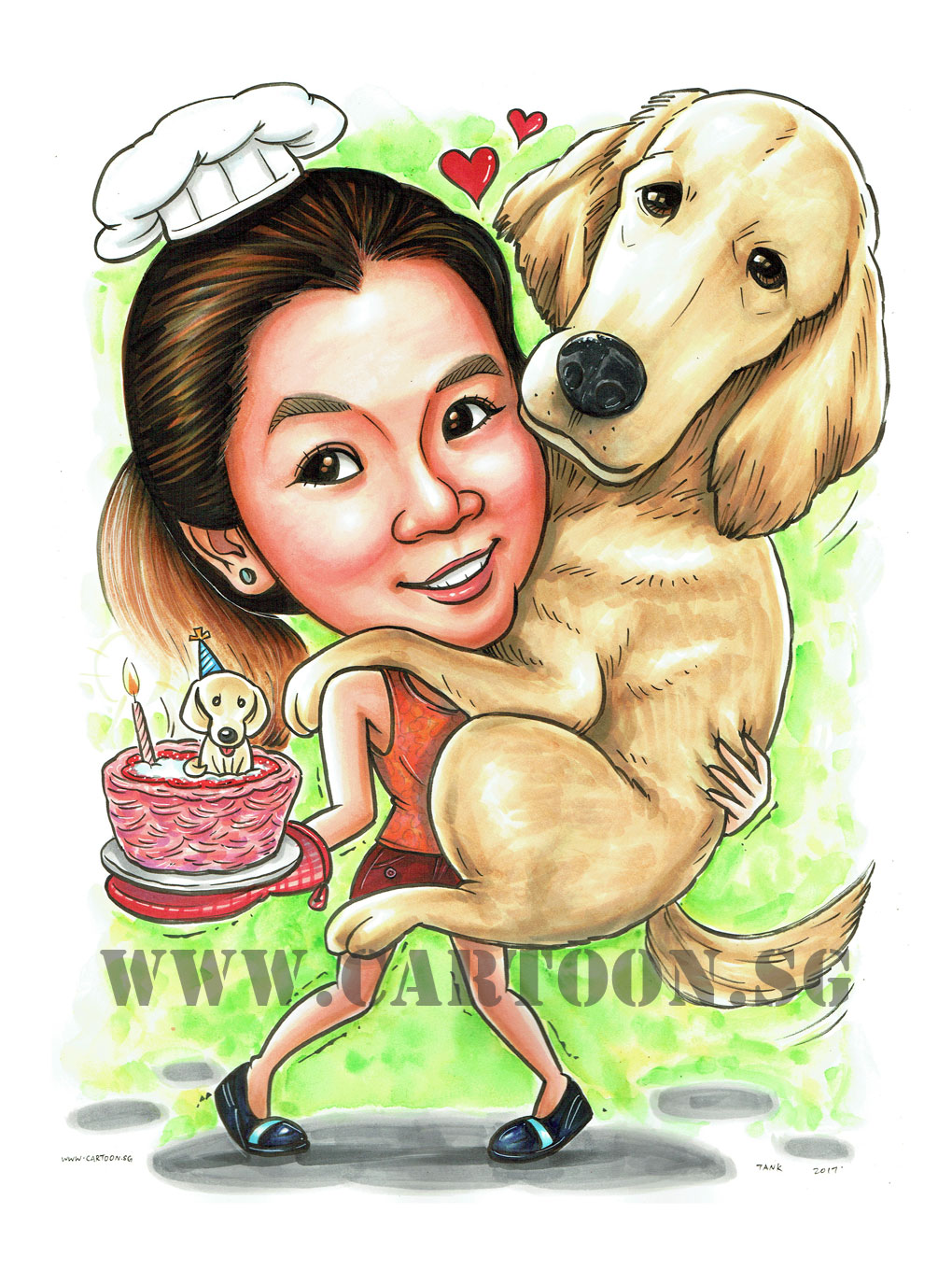 2017-07-13-Caricature-Singapore-gift-pet-dog-bake-cake-hug.jpg