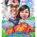 Caricature artists in Singapore for special gifts