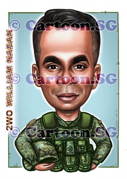 2018-02-18-Caricature-Singapore-digital-army-special-foeces-SAF-ILBV-jacket-vest-gift
