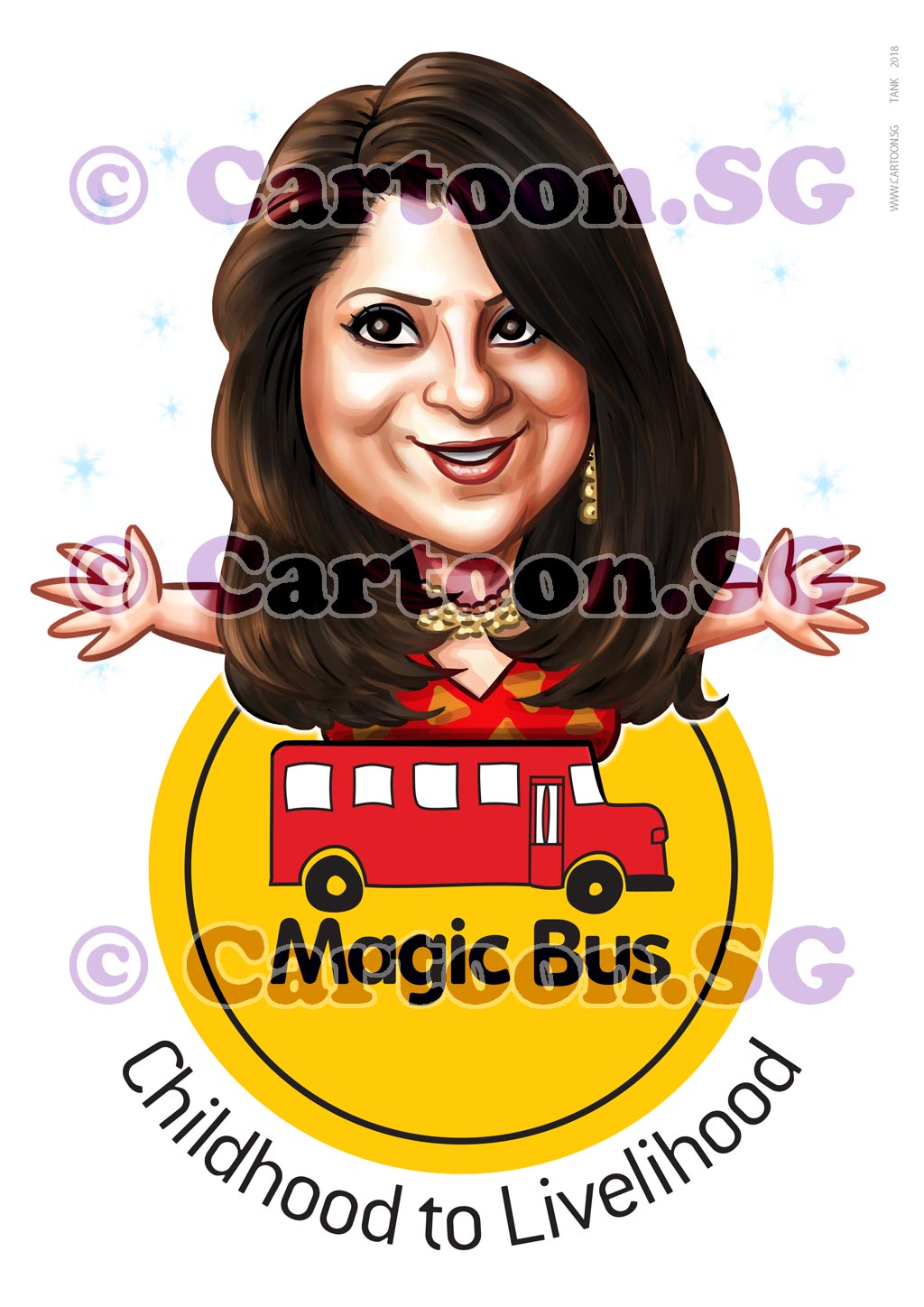 2018-02-21-Caricature-Singapore-digital-mugshot-magic-bus-logo-lady-cute-gift.jpg