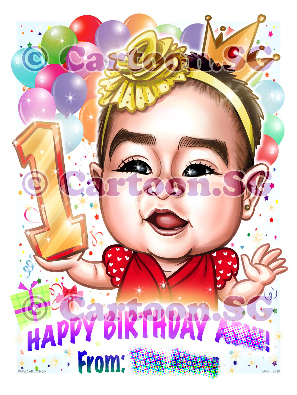 20180301-Caricature-Singapore-digital-birthday-baby-girl-gift-princess-crown.jpg