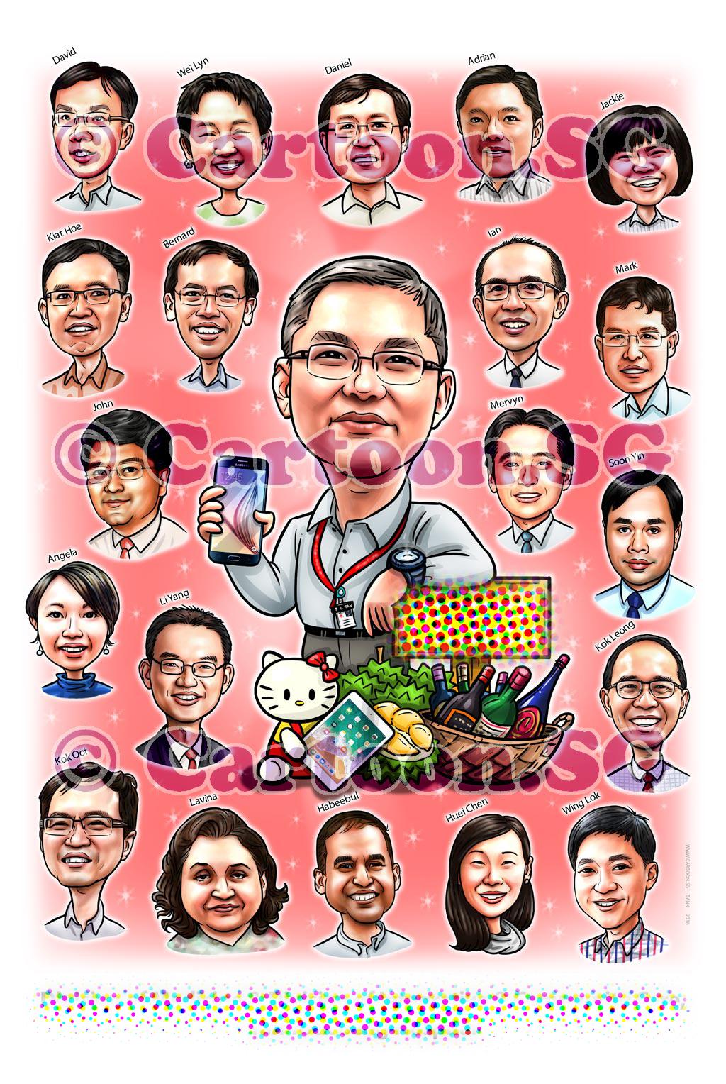 20180314-Caricature-Singapore-digital-boss-farewell-TTS-hospital-group-.jpg