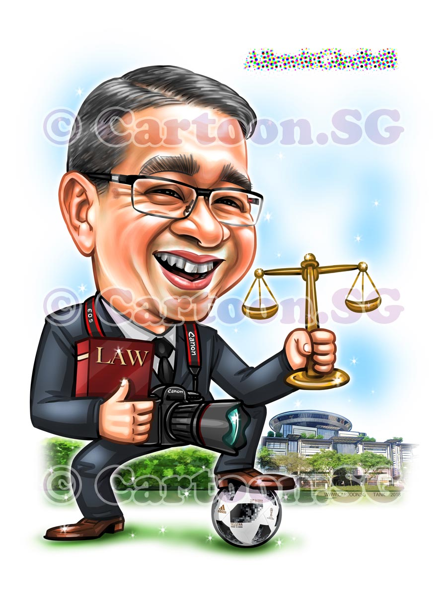 Gift for lawyer who loves football
