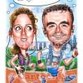 Couple who loves running marathons