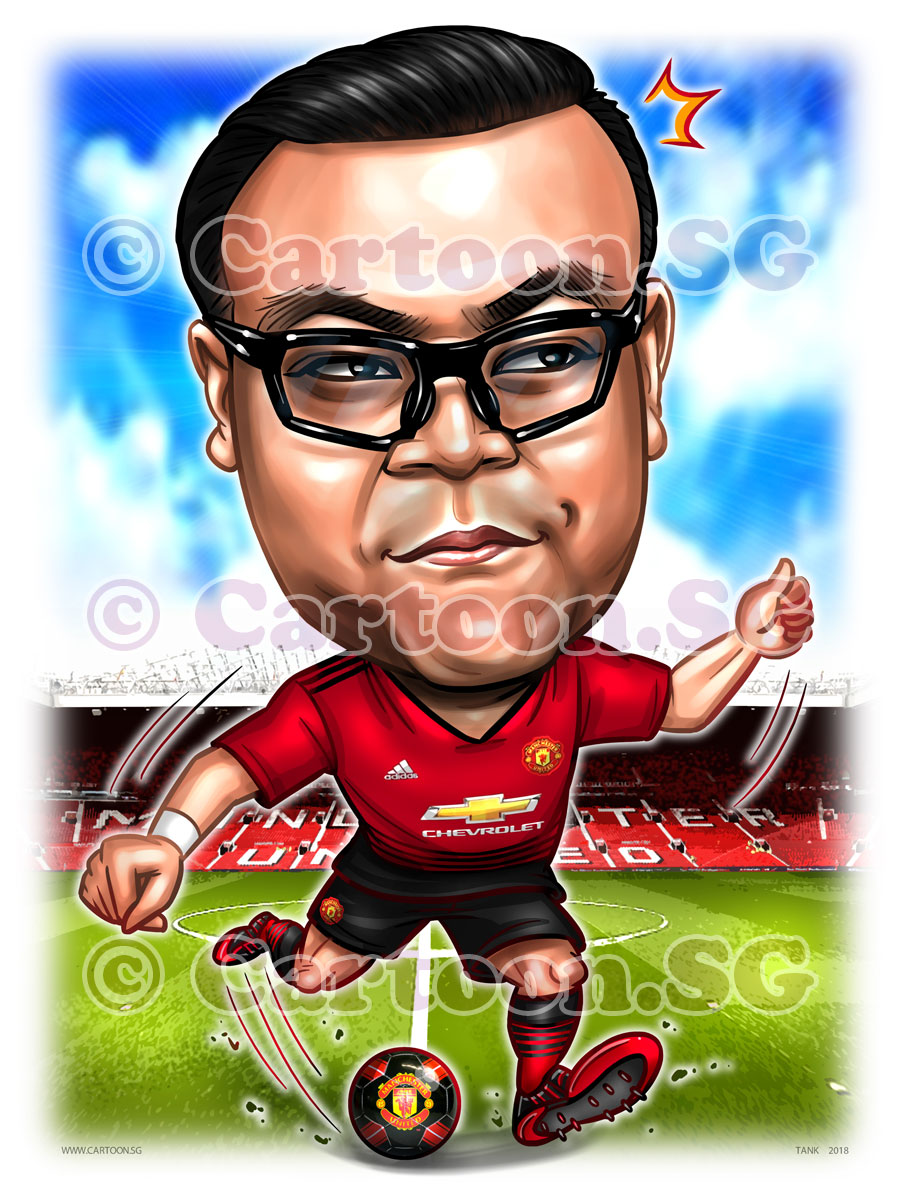 Gift for a Man-U fan