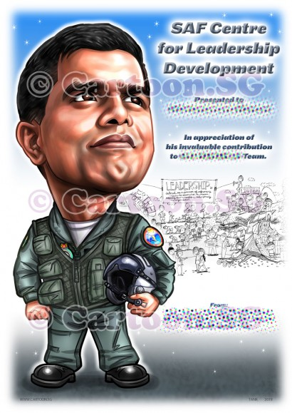 20190512-Caricature-Singapore-digital-RSAF-airforce-aircraft-helmet-uniform