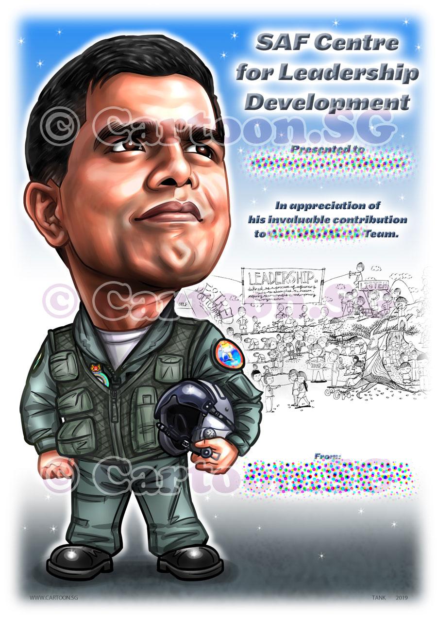 20190512-Caricature-Singapore-digital-RSAF-airforce-aircraft-helmet-uniform