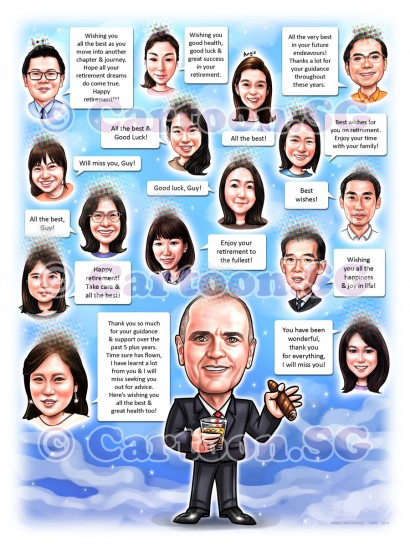 20190228-Caricature-Singapore-digital-group-farewell