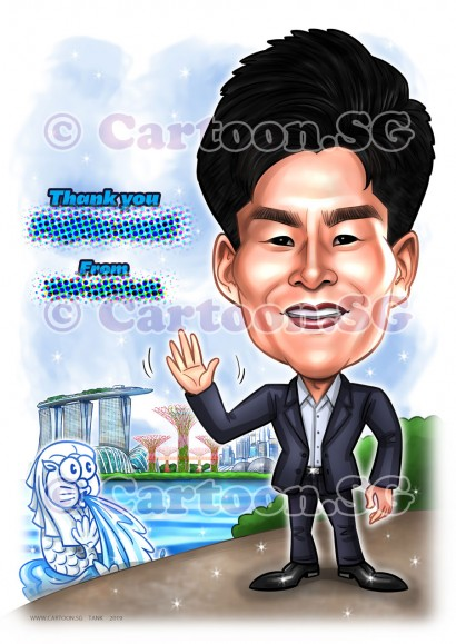 20190305-Caricature-Singapore-digital-Tadano-japanese-suit