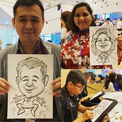 Live Caricature Event