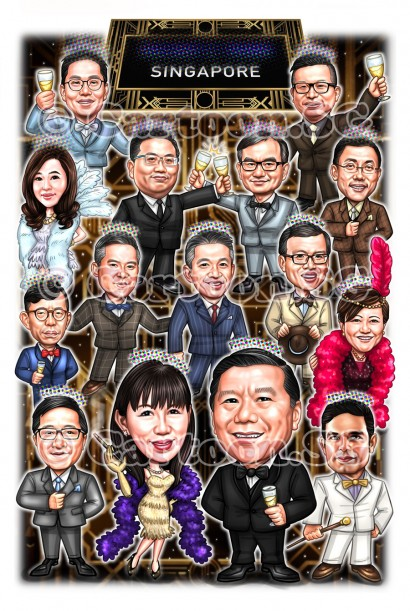 Caricature for Event