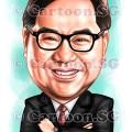 caricaturist singapore