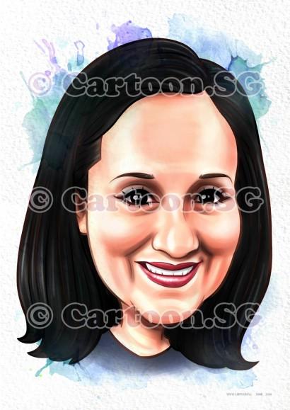Face portrait gift