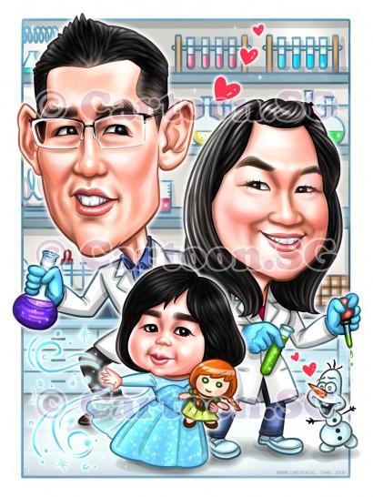 Forever in love family