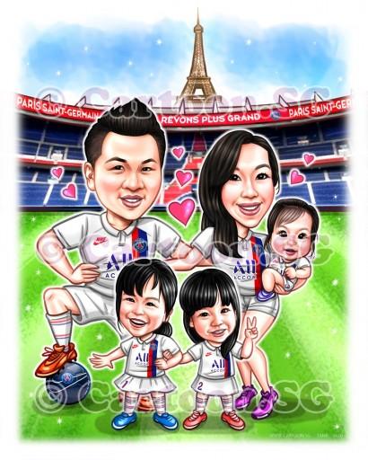 family jersey football sketch
