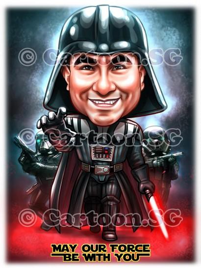 Dark Vader StarWars Fan Boss