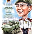 SAF tanker salute cartoon caricature apprieciation