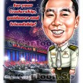 appreciation thank you army tank contributions  sketch caricature